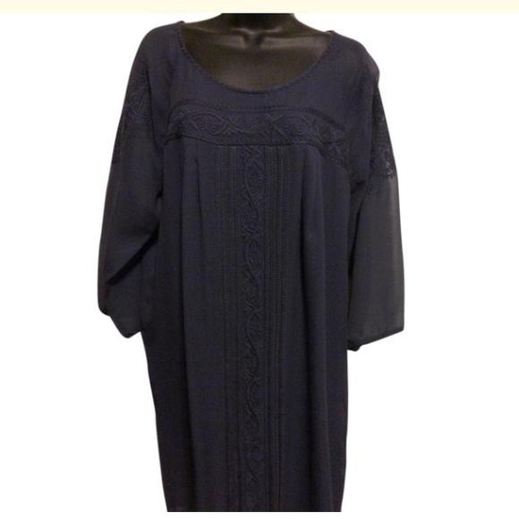 Joie Dresses & Skirts - Joie Navy Blue Silk Tunic Dress